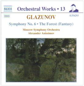 GLAZUNOV S 6